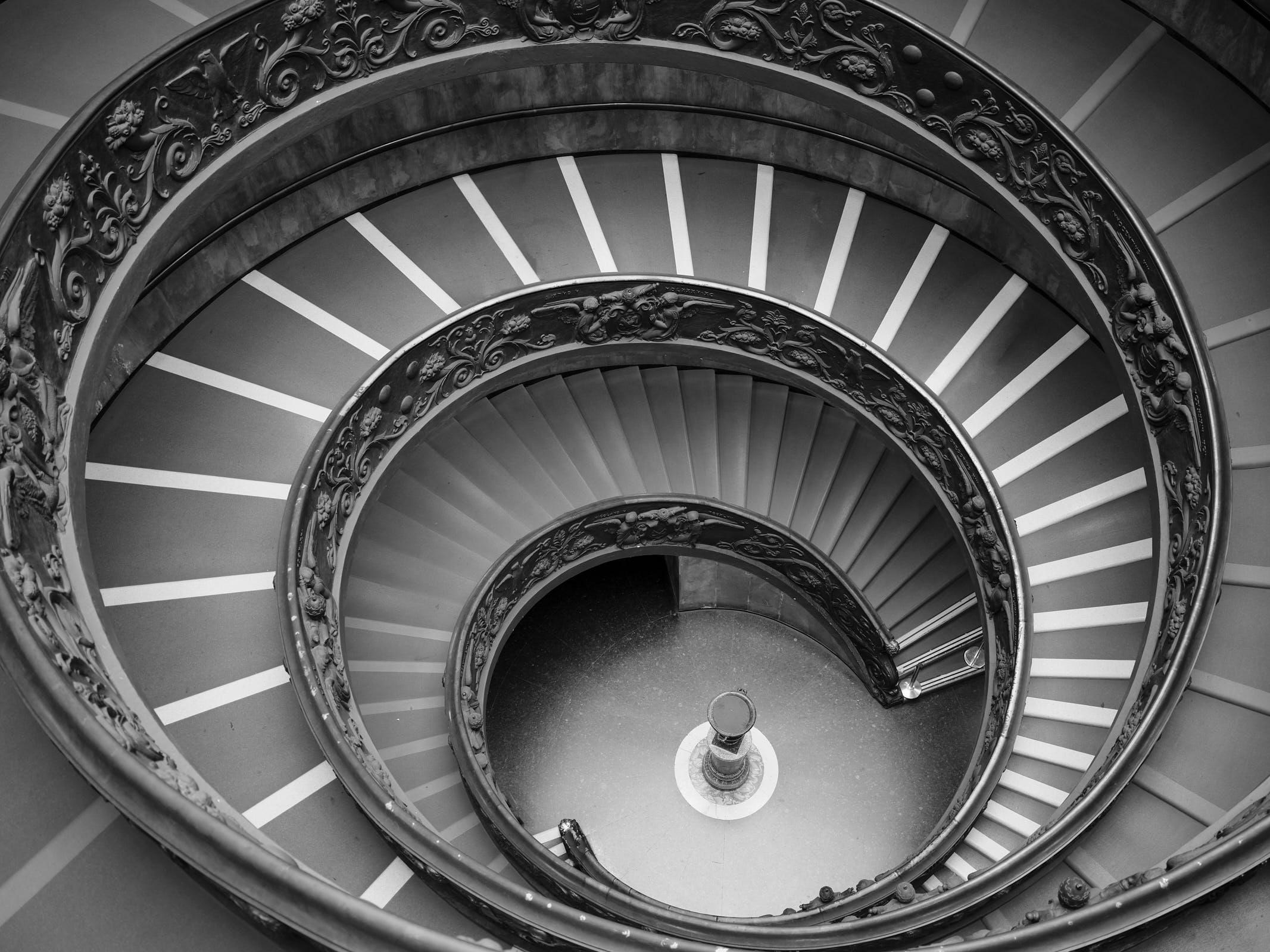 Vatican Museum Momo staircase