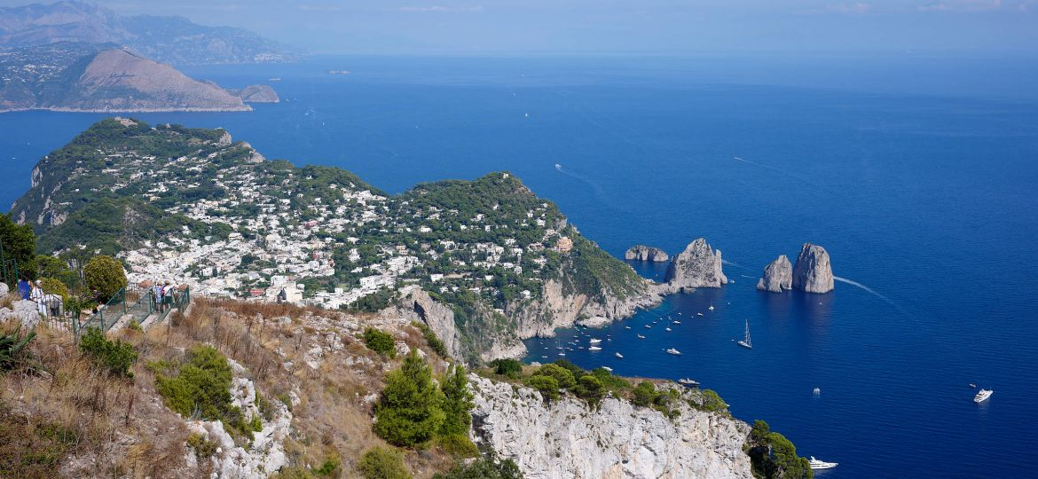 View from Anacapri, Italy