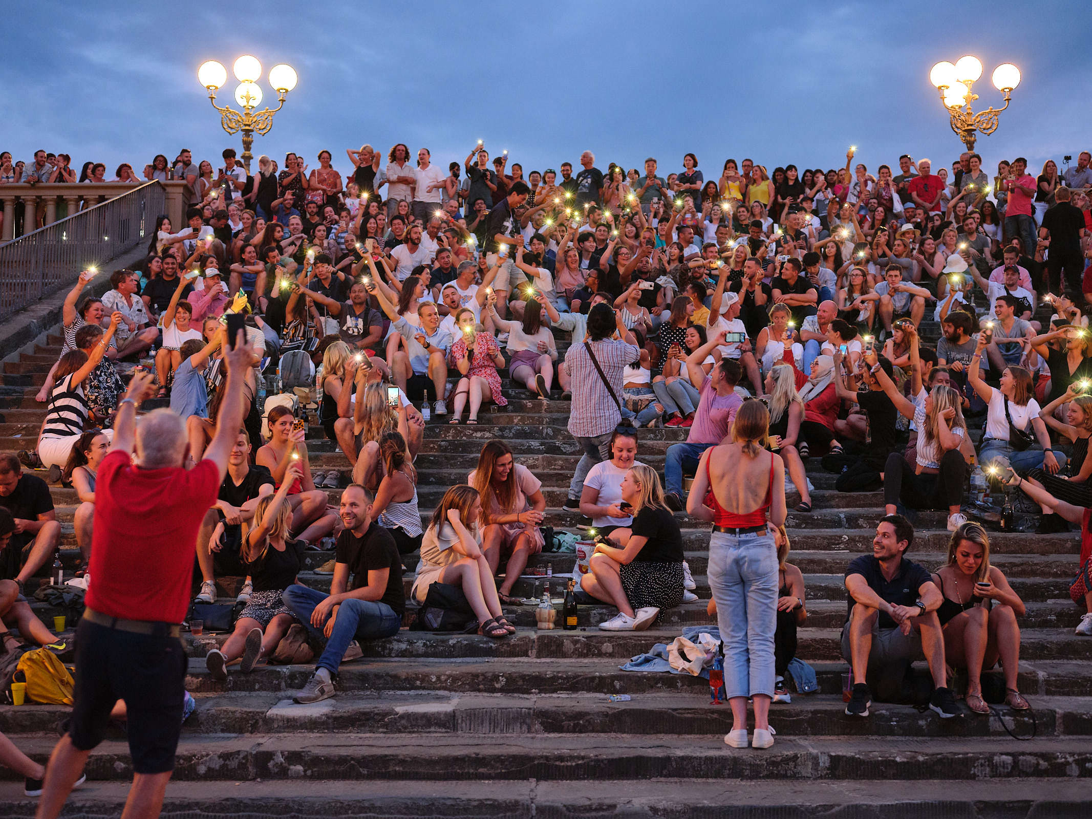 Florence crowd