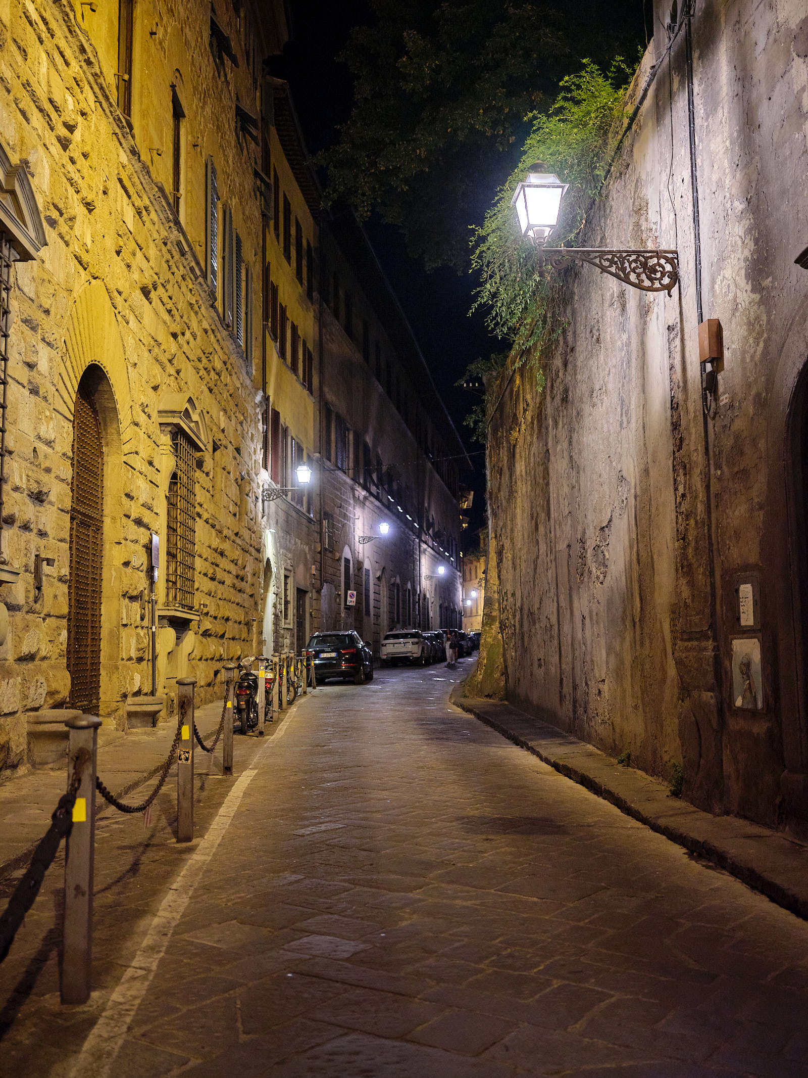 Historic streets of Florence