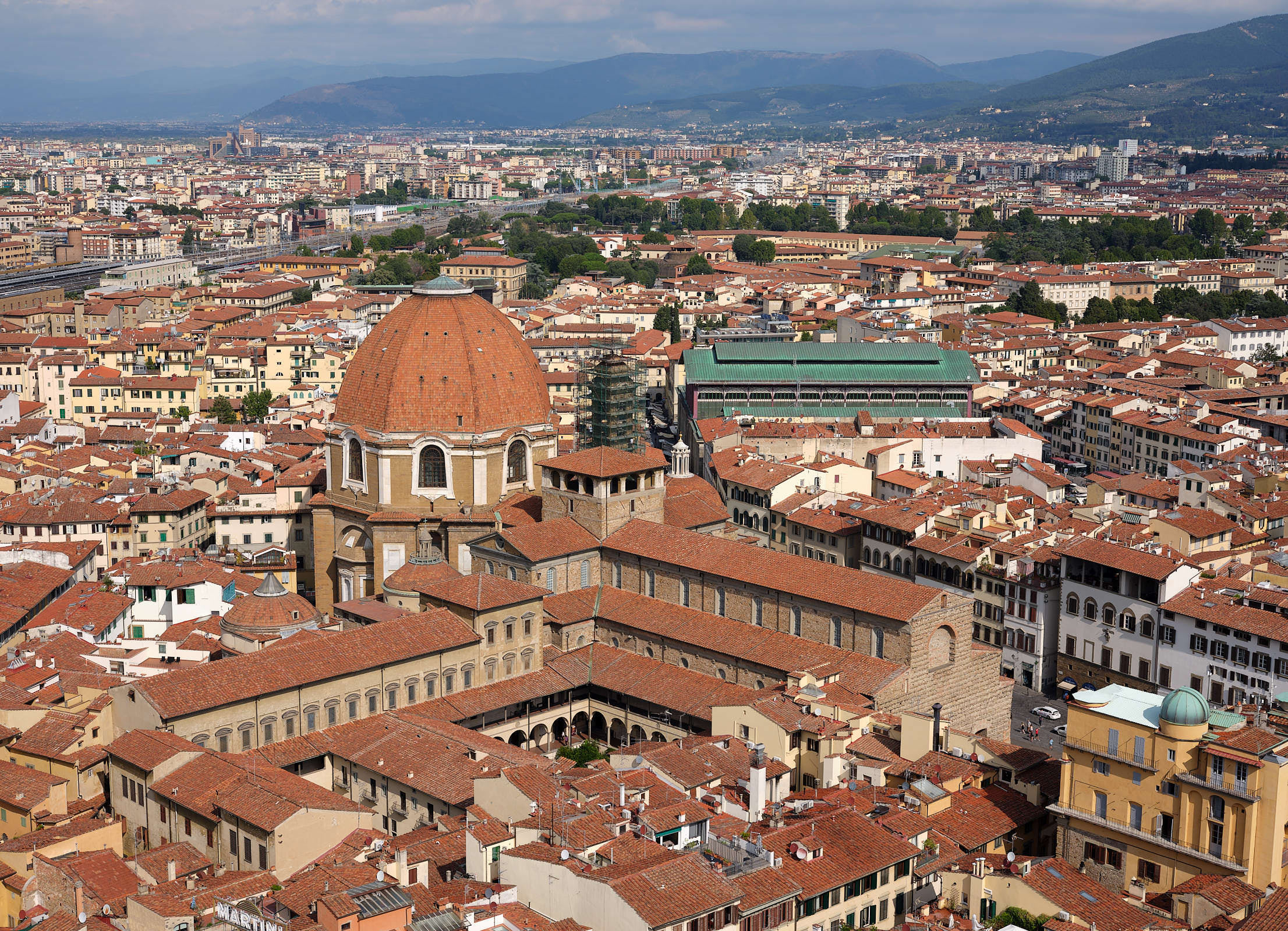 City view from Giotto\'s Bell Tower Florence