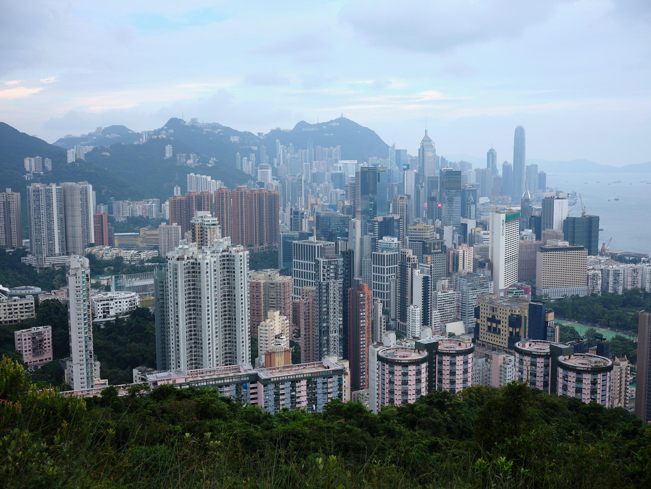 Hong Kong from Braemer Hill