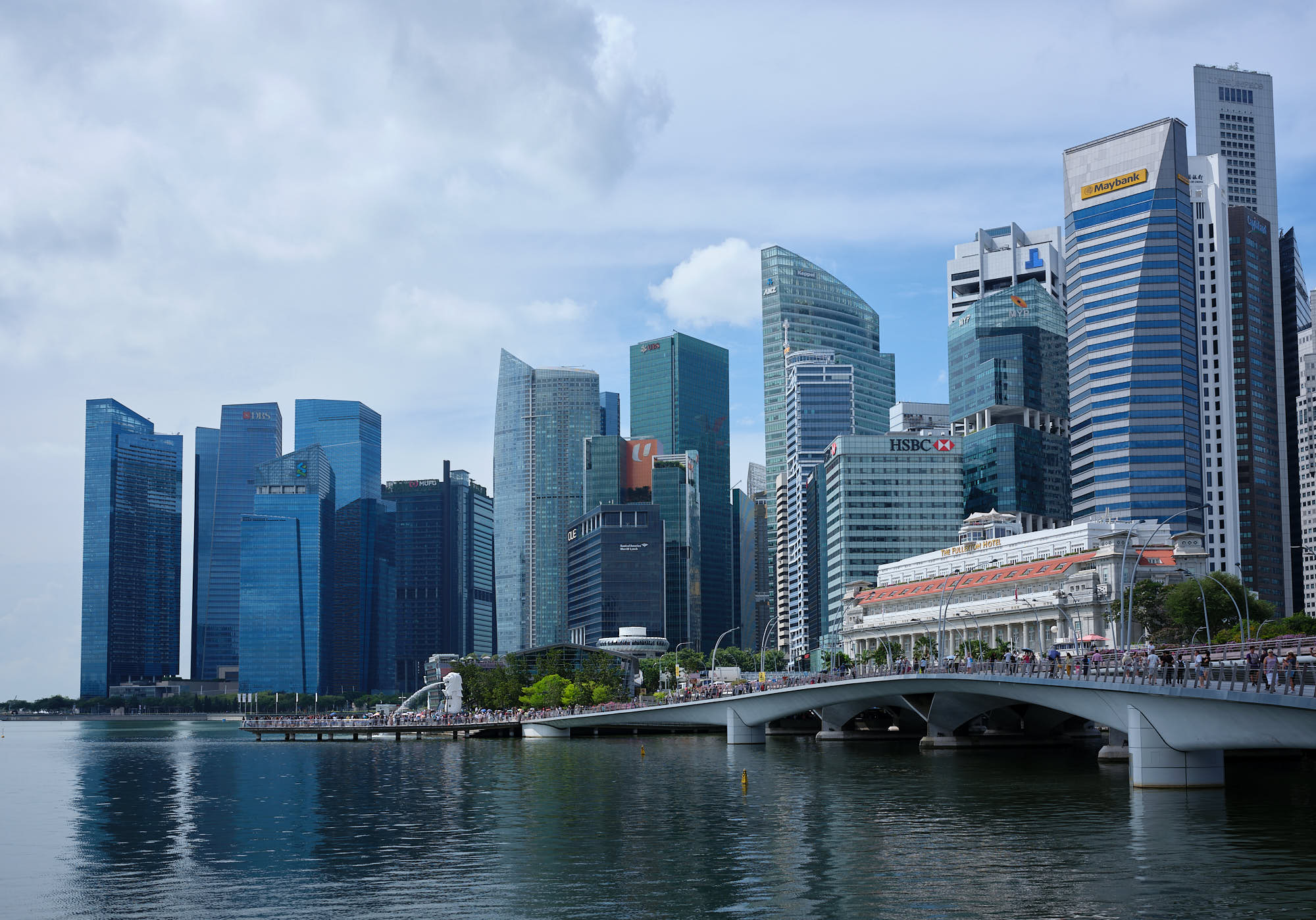 Singapore CBD Central Business District