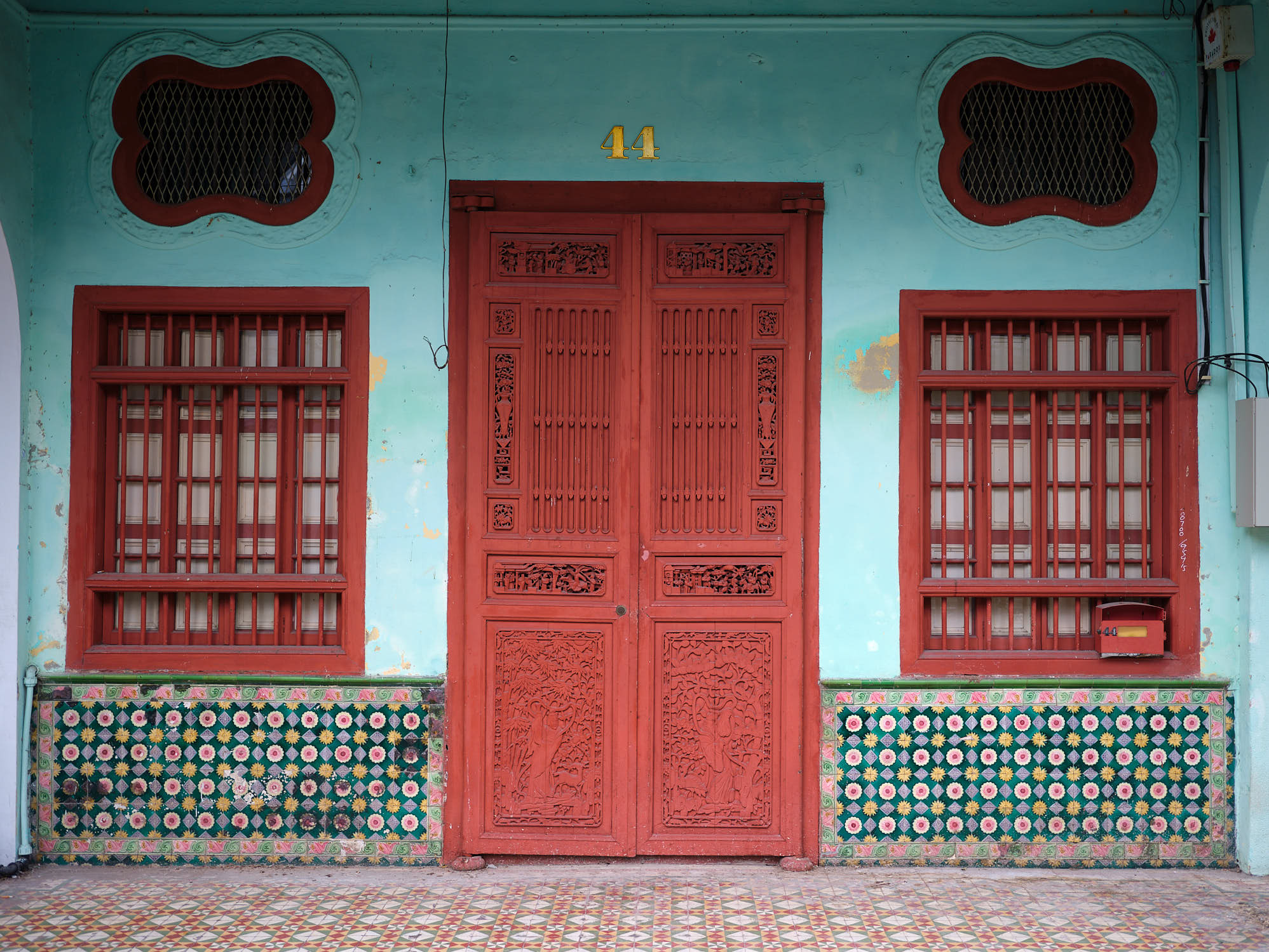Beautiful doors in George Town
