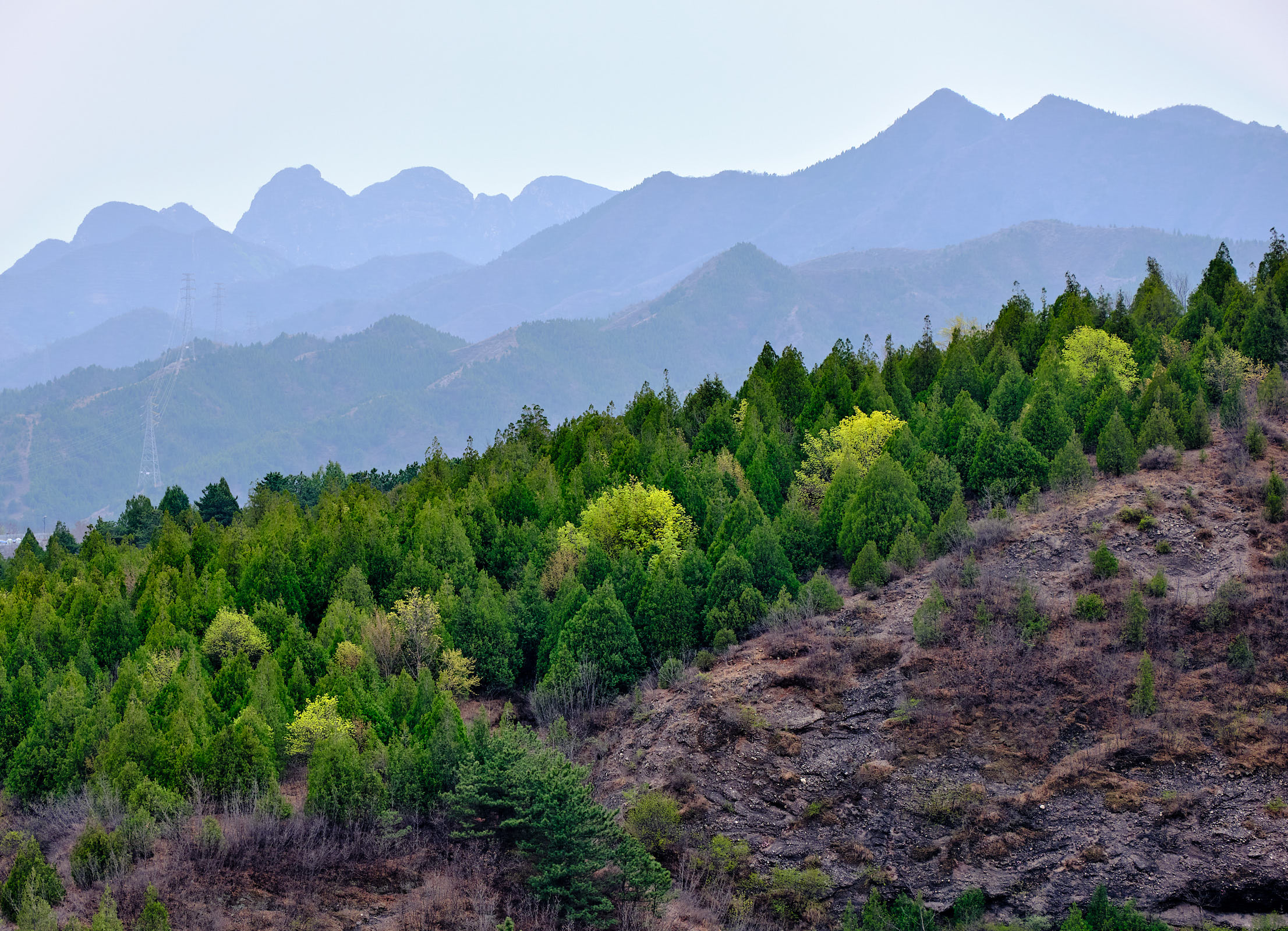 Gubei Watertown mountains