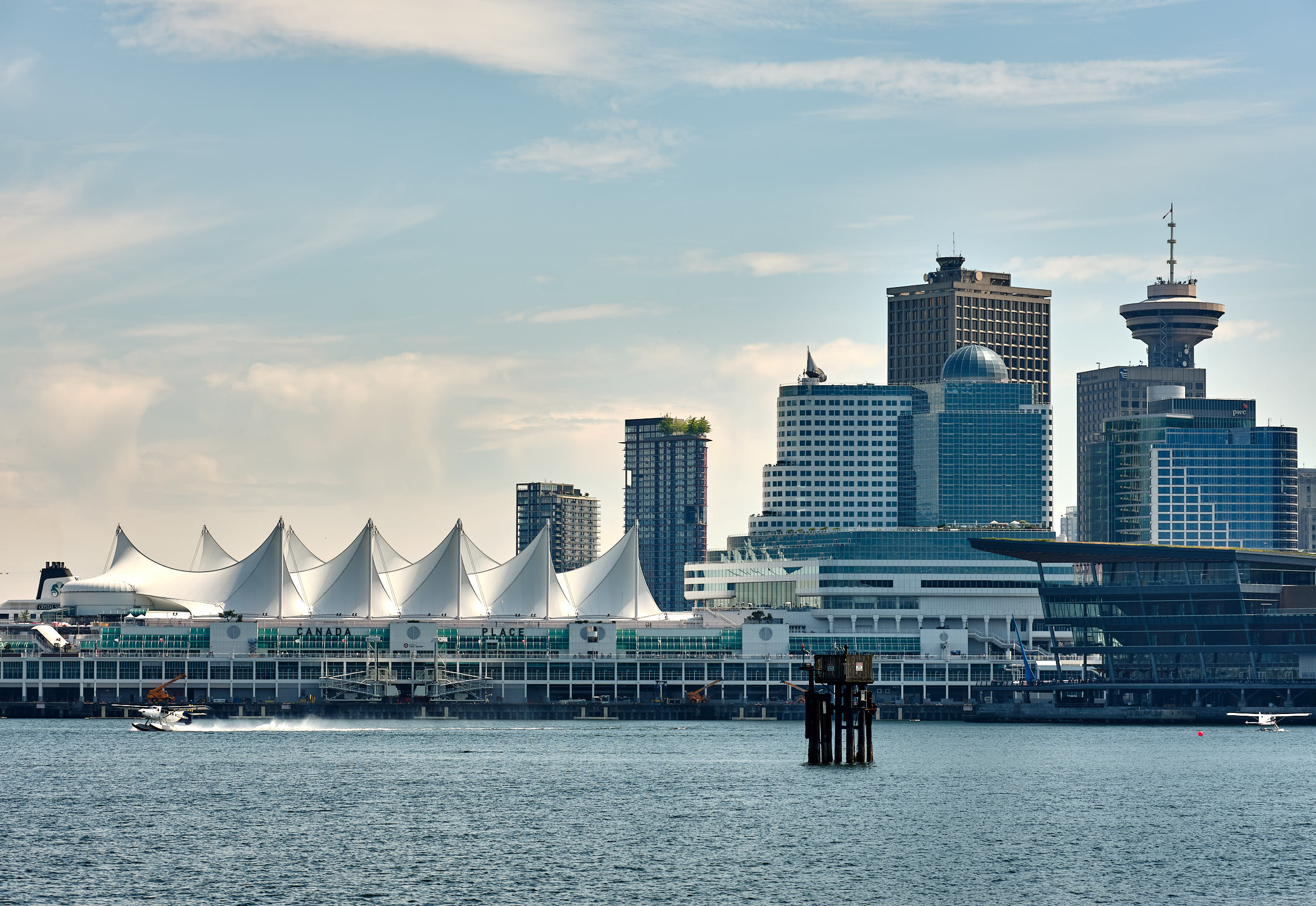 Canada Place and Vancouver skyline