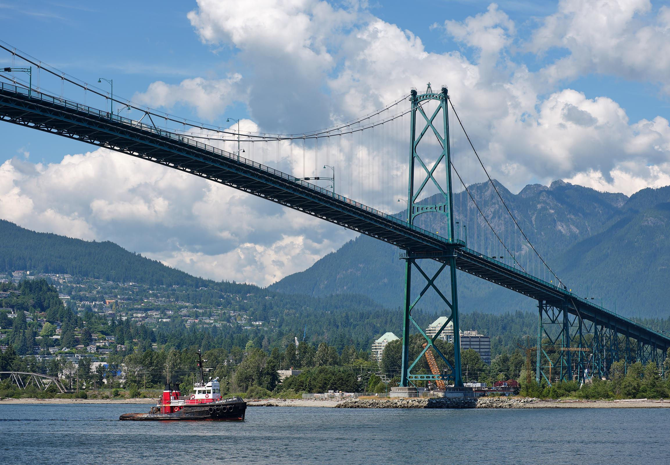 Lion\'s Gate Bridge, Vancouver