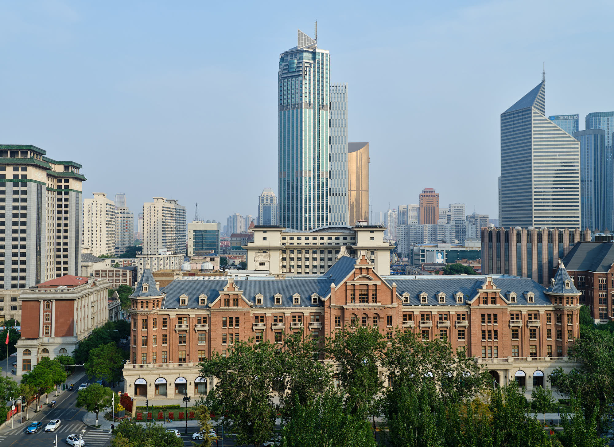 Historic architecture in Tianjin, China