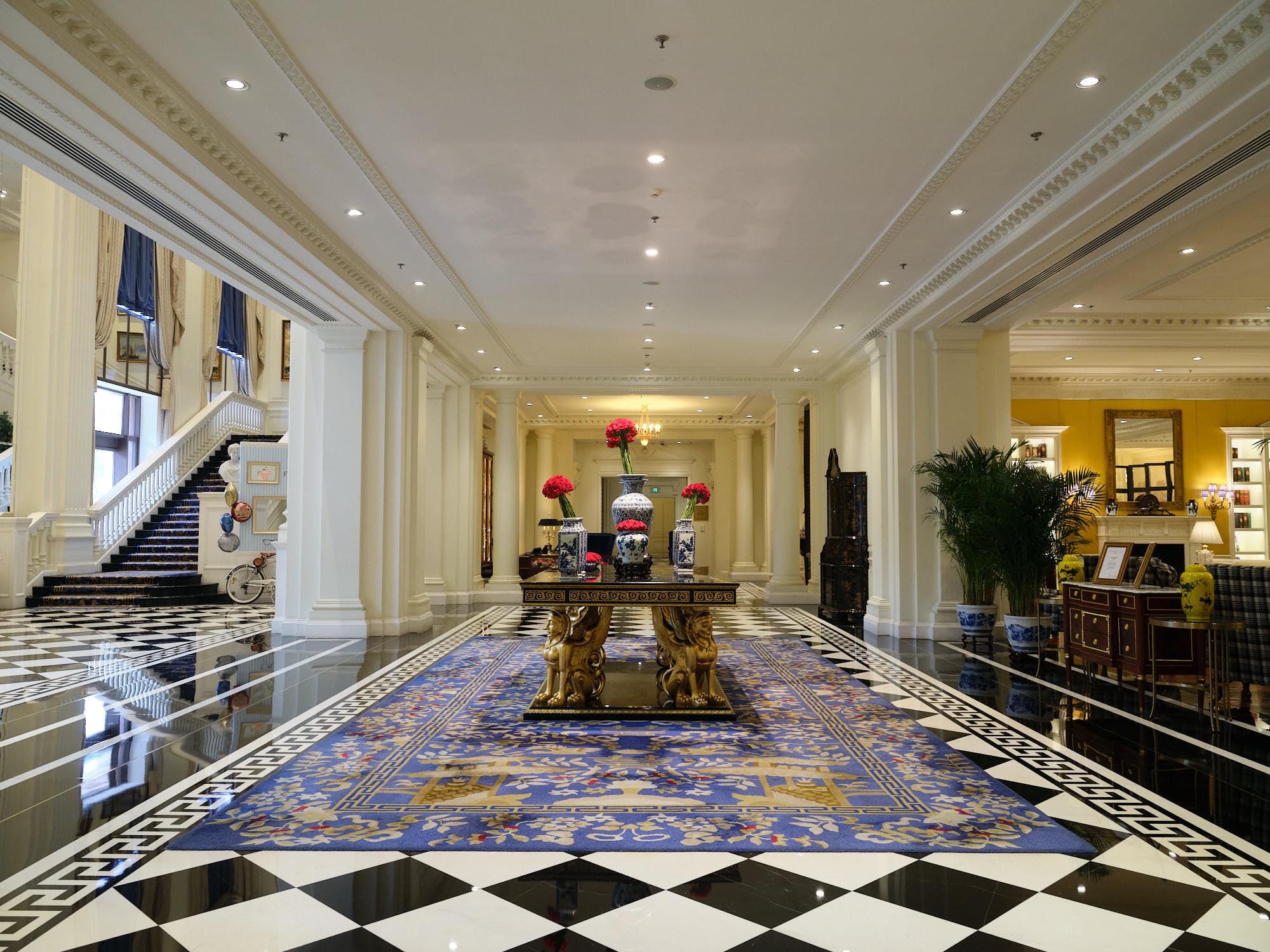 Flagship Ritz Carlton in Tianjin, China