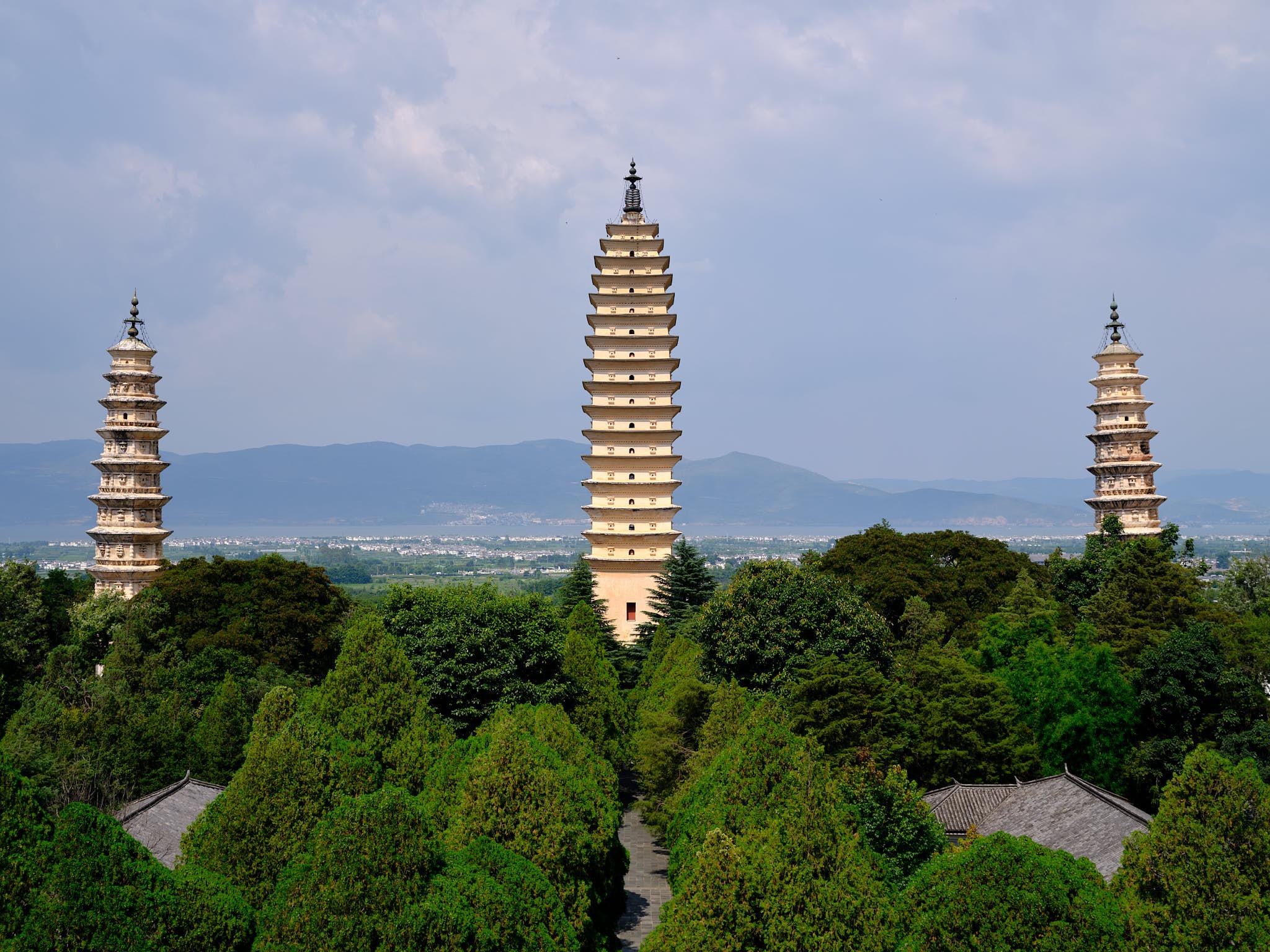 Three Pagodas