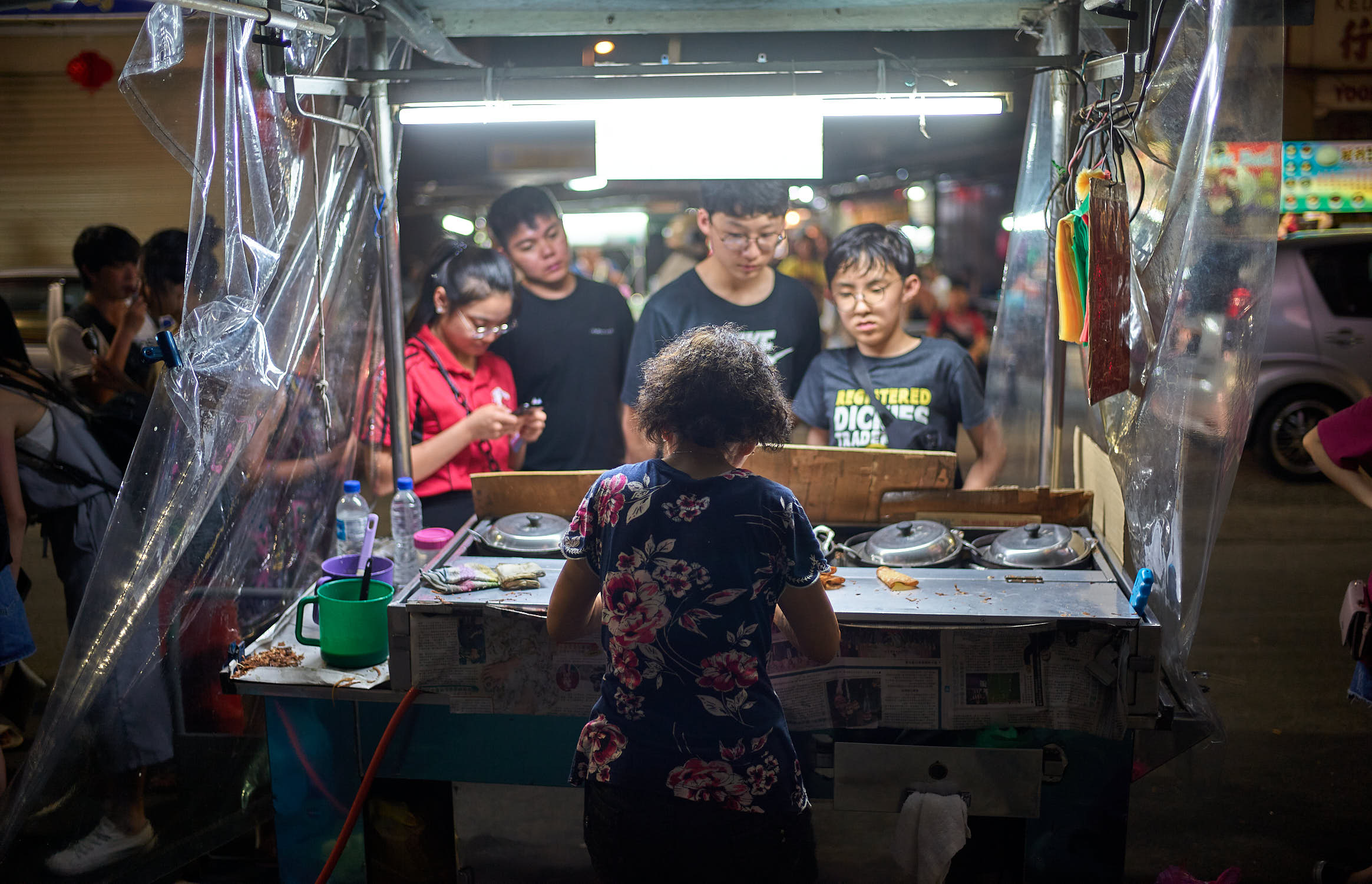Famous Apom at Chulia Hawker Centre