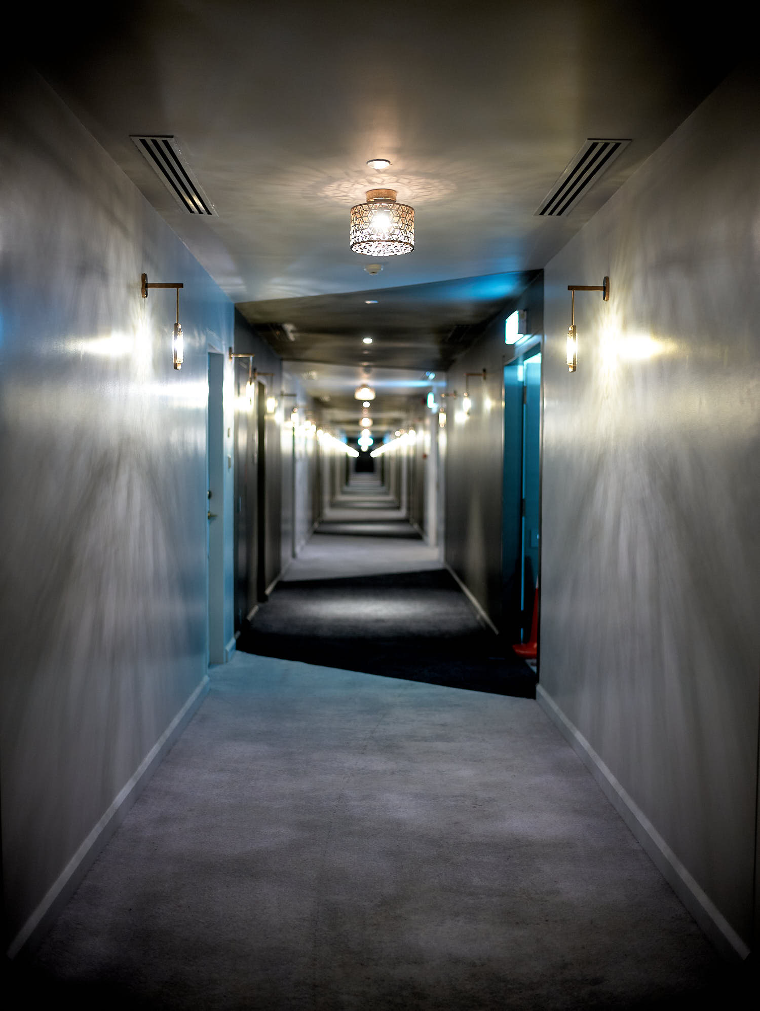 Hallway of The Prestige Hotel
