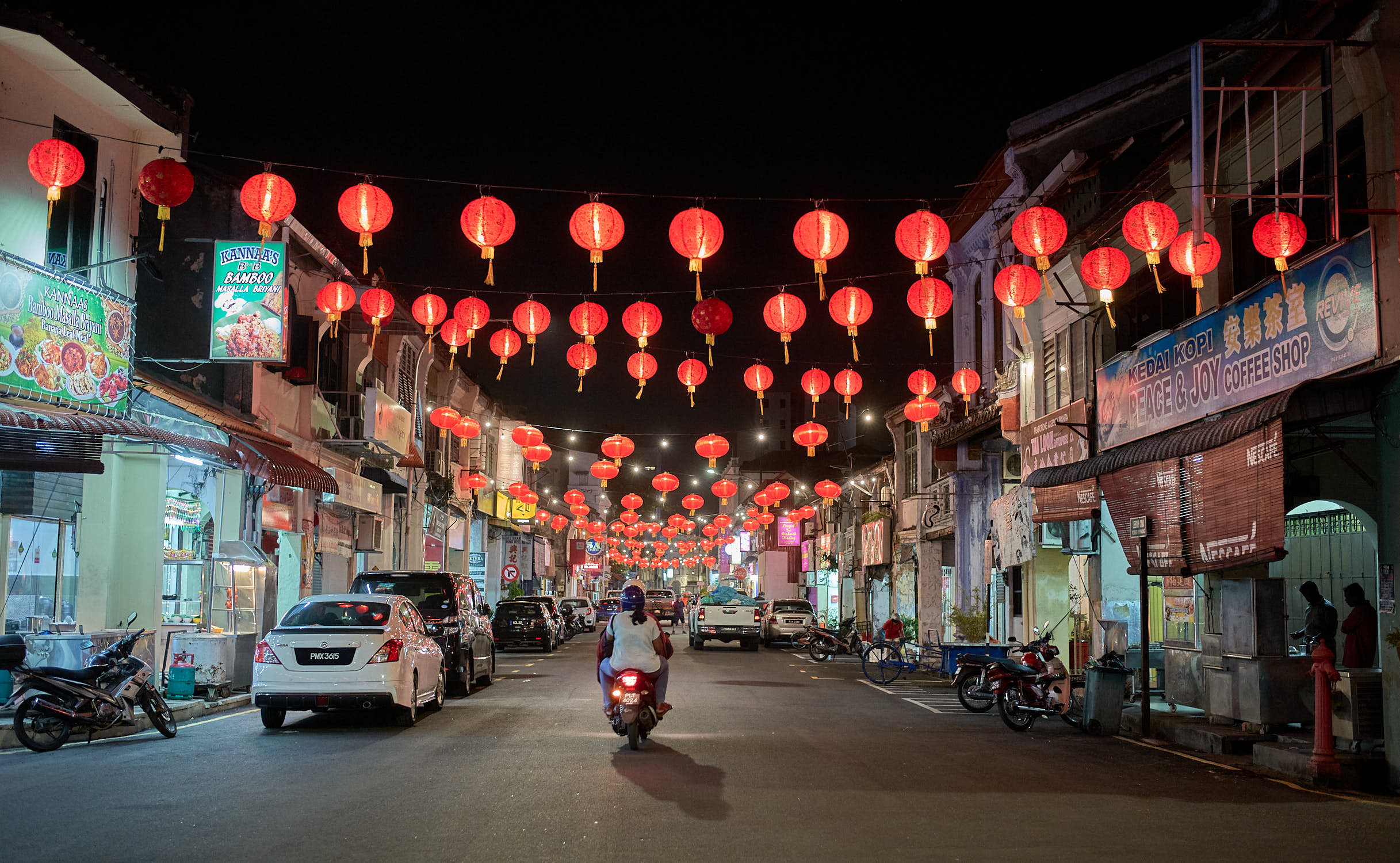Chinese New Year Lanterns George Town
