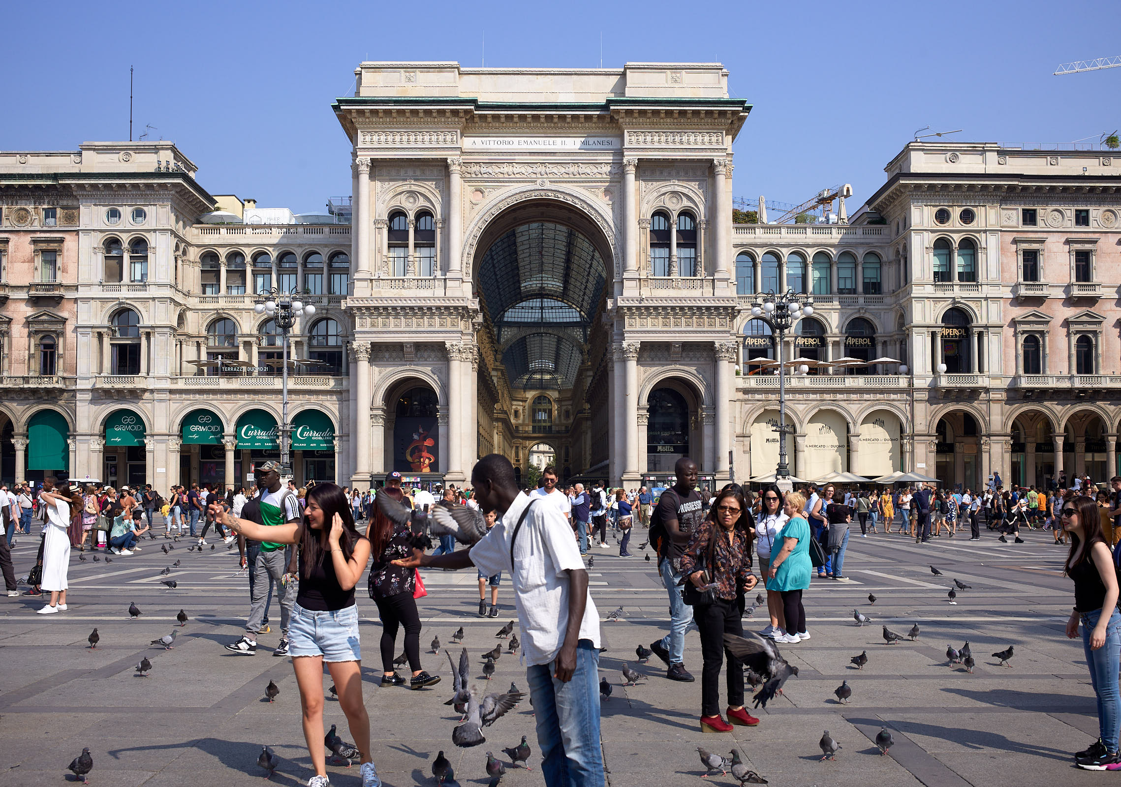 Milan main square