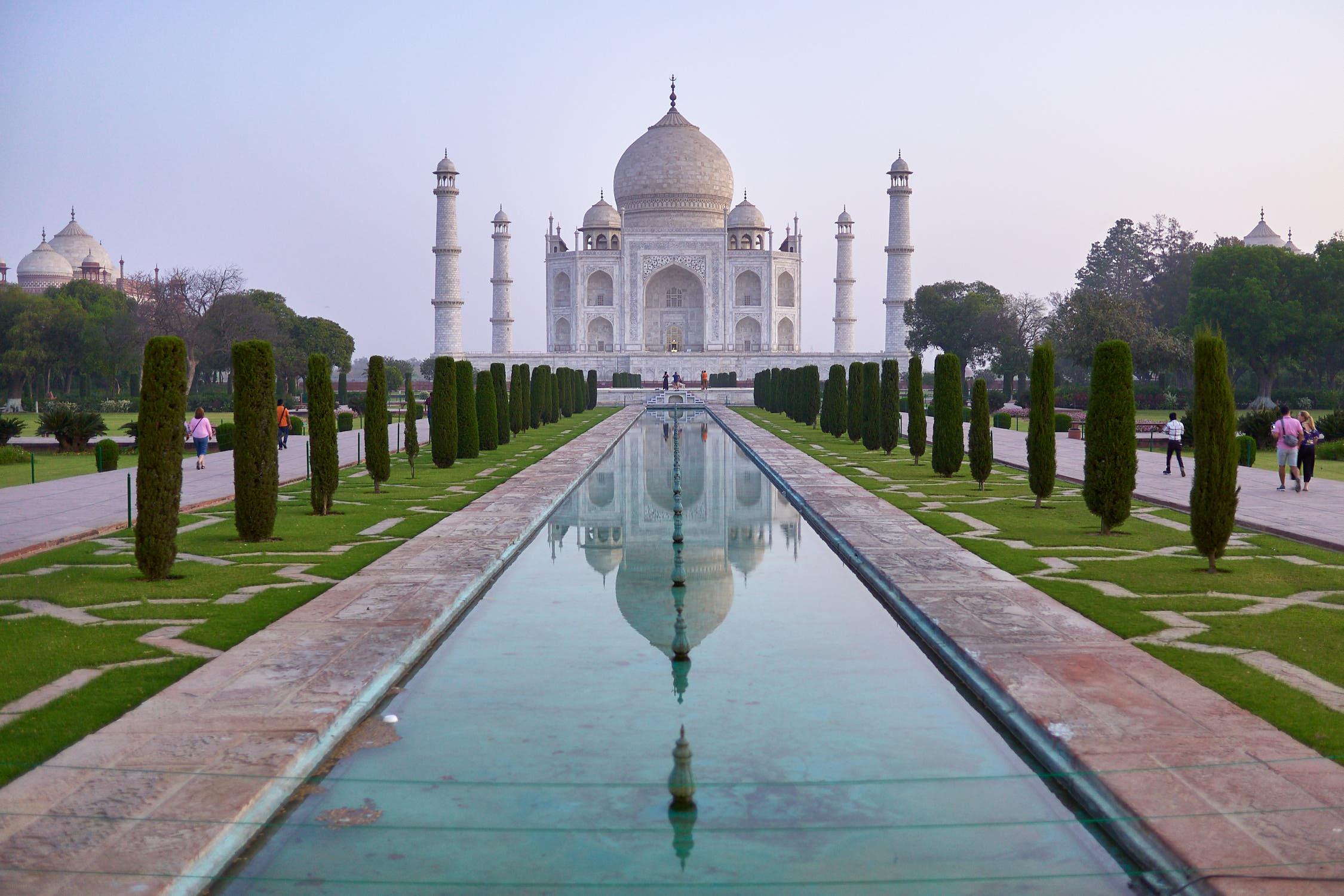 The perfect shot of Taj Mahal, India
