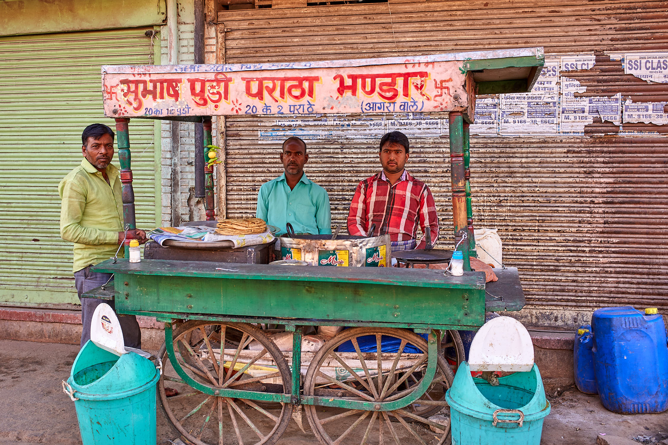 Street food vendor, Jaipur, India
