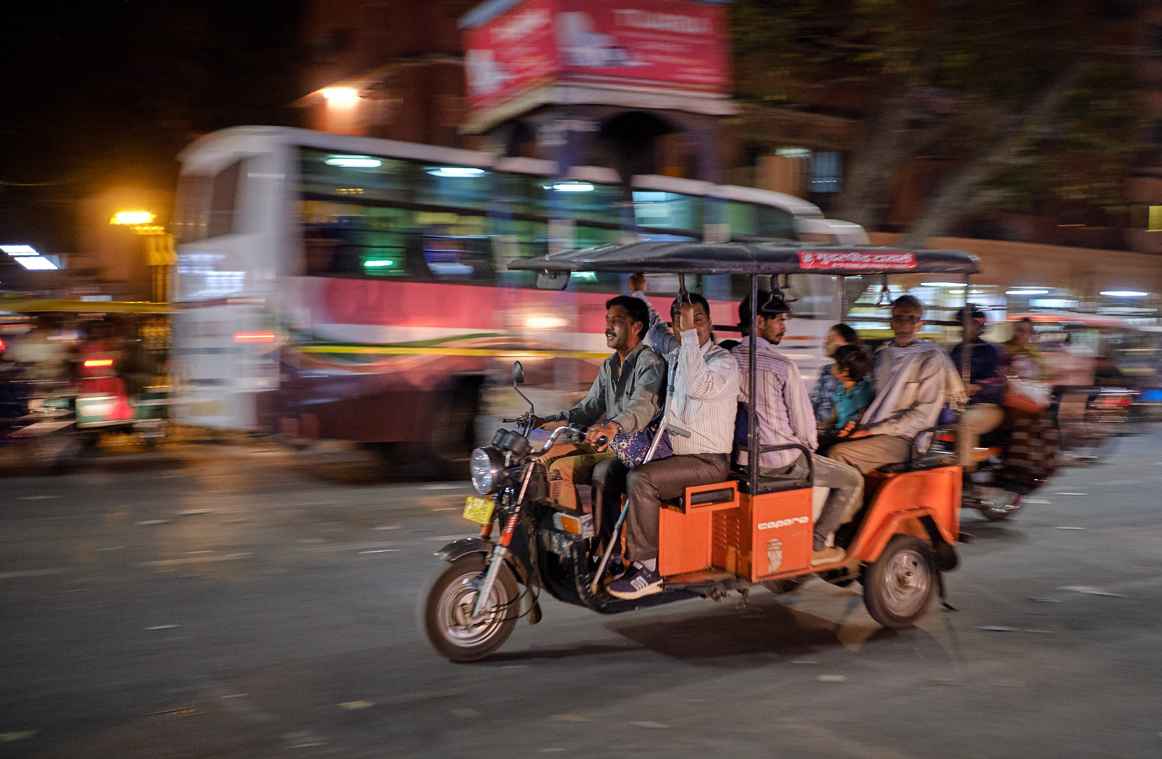 Rickshaw in Jaipur, India