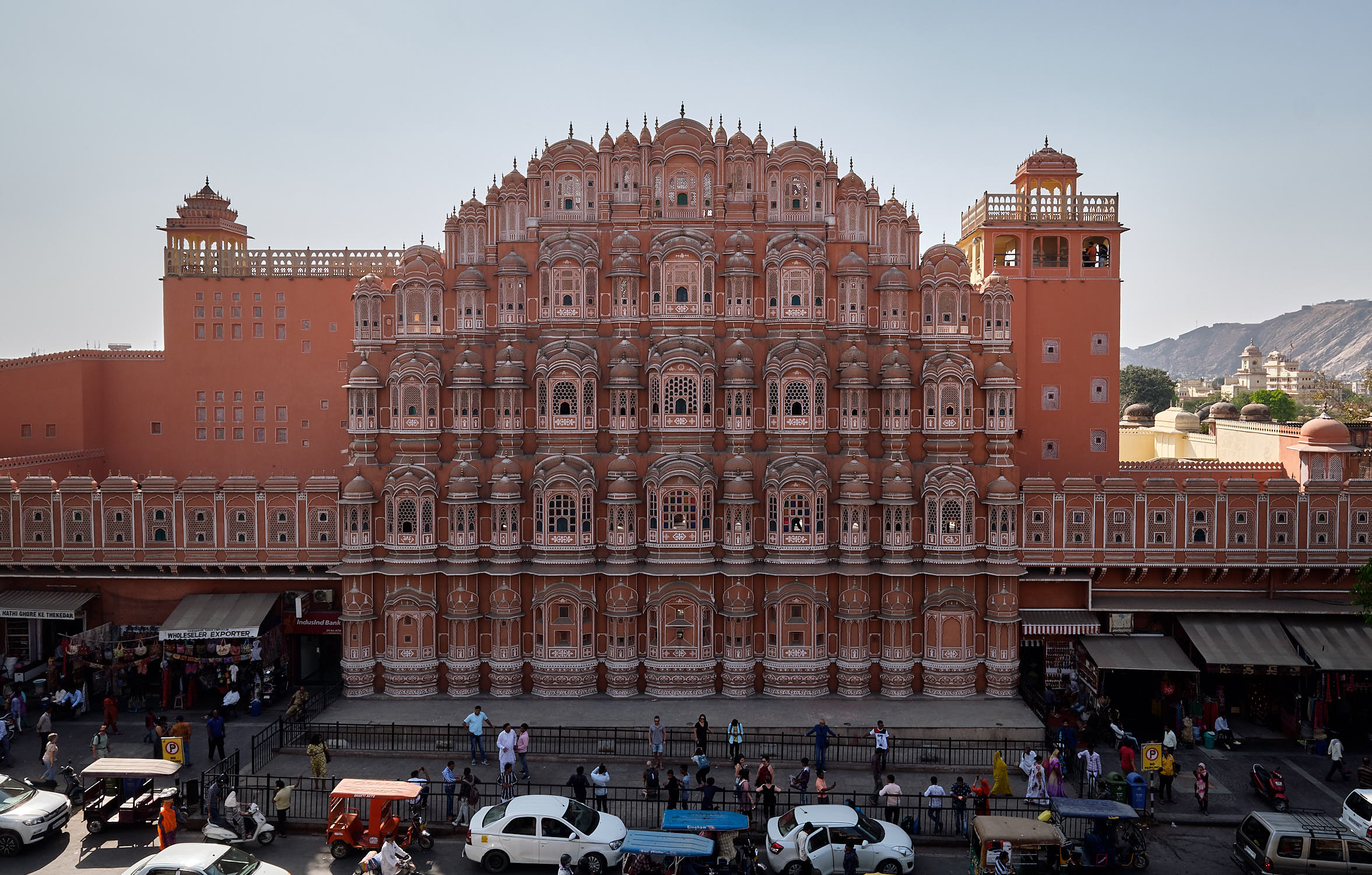 Hawa Mahal, Jaipur from the cafe across the street