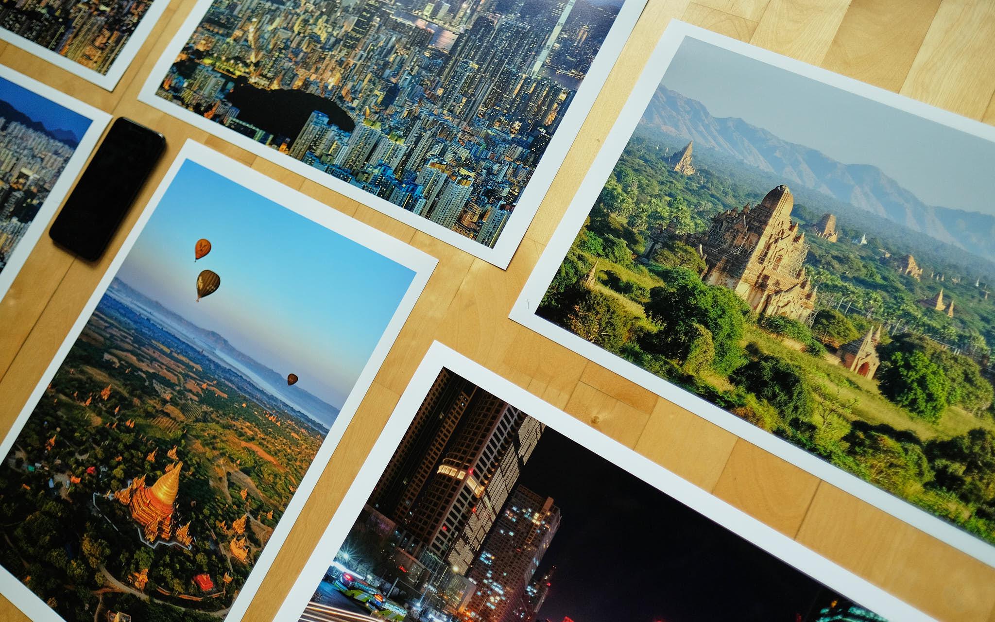 Print samples Fujifilm