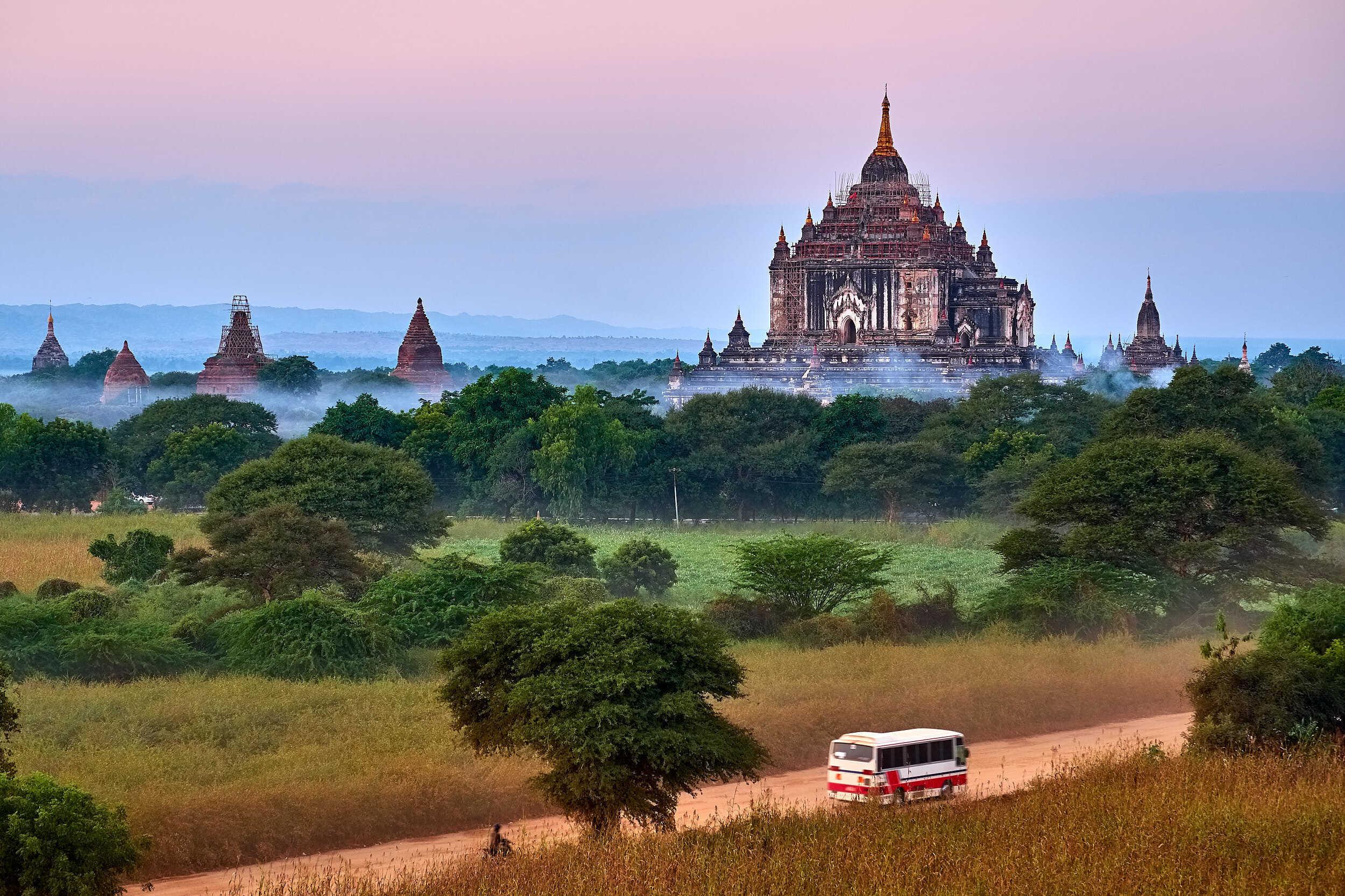 wanderinglass.com Bagan Bus